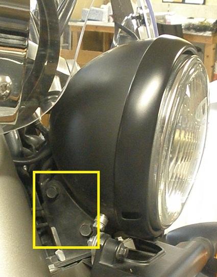 Changing The Headlight On A 2010 Honda Shadow Phantom Mikes Web Log